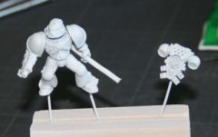 Conversion de Space Marine